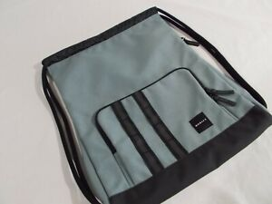 NWT Oakley UTILITY SATCHEL BAG Drawstring Pack LEAD GREEN Travel Gym  921459-24A
