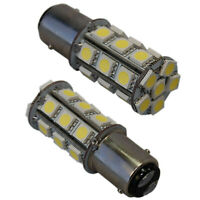 2x BAY15d 24 SMD marine LED Bulb for Hella, AquaSignal, Perko navigation lights
