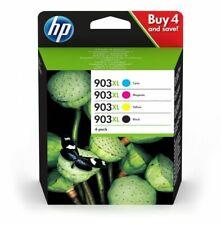 Set 4 HP 903XL Original De Cartucho De Inyección De Tinta 3HZ51AE en Caja DEC 20...