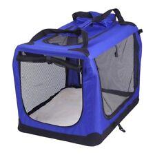 Transportador Mascota Azul plegables Perro Gato Cachorro transporte bolsa
