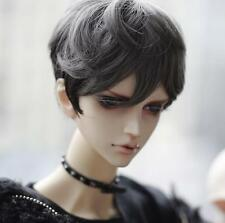 1 4 7-8 BJD Wig SD MSD DD Pullip Dal Dollfie Doll wigs Gray black barbie