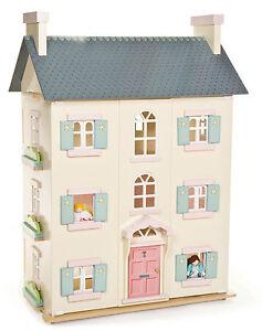 NEW Le Toy Van Cherry Tree Hall Big Wooden Dolls House