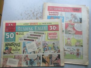 Reading (PA) Eagle COMPLETE Comics Section from March 5, 1972, 24 Pages!
