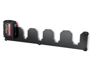 Wandhalterung für Milwaukee Akkuschrauber Akku 18V Halter Wandhalter 5-Fach