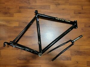 Cannondale Black Lightning 3.0 Series Aluminum Road Bike Frame & Fork 700c