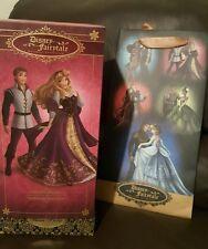 Disney LE Briar Rose, Aurora & Prince Phillip Doll Fairytale Designer Couple