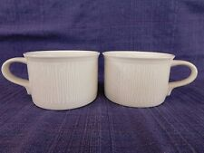 Mikasa White Birch CUPS - SET of TWO (2) - *have more items to this set