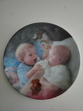"""Nib Vintage Artaffects """"Christopher And Kate"""" plate by MaGo 1989 #1362A"""