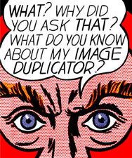 Roy Lichtenstein Art Portrait