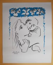 PABLO PICASSO FEMMES DU MONDE ENTIER SIGNED AND DATED FRENCH LITHOGRAPH  COA