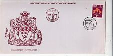 South Africa 1971 International Convention of Women Unaddressed VGC with enc.