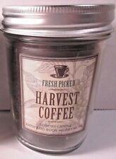 Bath & Body Works Mason Jar 6 oz Candle Harvest Coffee