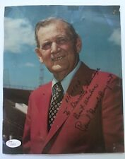 """Paul """"Bear"""" Bryant Signed Autographed 8 x 10 Photo JSA - FREE PRIORITY S&H!"""