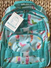 NWT Pottery Barn Kids Turquoise Mermaid Large Backpack-Sold Out-Beach-No Mono