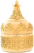 Judith Leiber Gold Metal Embossed Evening Bag Clutch Pandan Floral Vintage
