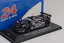 1995 24h Le Mans winner McLaren f1 GTR # 59 Dalmas Lehto sekiya 1:43 IXO