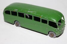 MATCHBOX LESNEY #21B BEDFORD COACH BUS, DARK GREEN, GPW, ORIGINAL