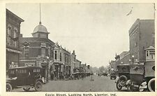 20's Autos Line the Parking Spaces On Cavin Street, Ligonier IN Indiana