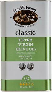 Lyrakis Family | Olive Oil Extra Virgin | Cold Pressed | 3L | Crete | Greek