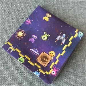 Space Invaders Handkerchief, edc hank, hank, edc gear[UK Handmade and Seller]
