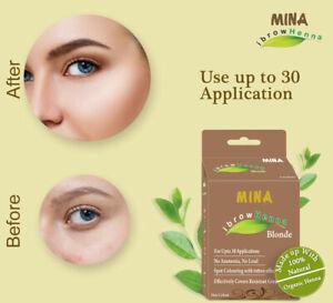 Mina ibrow Henna Blonde Regular Pack & Tinting Kit