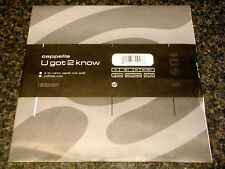 "CAPPELLA - U GOT 2 KNOW  7"" VINYL PS"