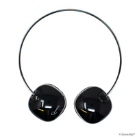Wireless Bluetooth Stereo Headset On Ear Built in Mic for iPhone Samsung Black