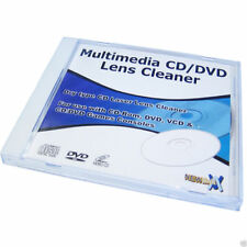 Multimédia type sec cd / dvd lens cleaner disk