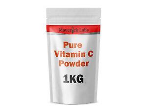 Vitamin C Pure Powder 500g 1KG Ascorbic Acid Immune Antioxidant Strongest Legal