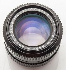 Agfa Color Coated 50 mm 50mm 1.4 1:1.4 - Pentax PK Objektiv