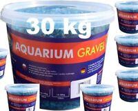 Farbkies Fluo Blau Aquarium Bodengrund 30 KG (6 x 5kg) im Eimer