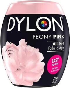 Washing Machine Fabric Dye Pod Clothes & Soft Furnishings, 350g Peony Pink