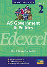 AS Government and Politics Edexcel: Governing the UK: Unit 2 by Chris...