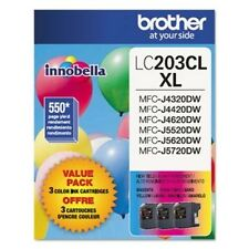 Brother Innobella Lc2033pks Ink Cartridge - Cyan Magenta Yellow - BRTLC2033PKS
