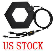 HD Digital TV Antenna 50 Miles Detachable Amplifier Signal Booster Coaxial Cable