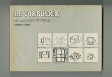 1984 Geoffrey Baker LE CORBUSIER: AN ANALYSIS OF FORM Architecture 278-pg HC-DJ