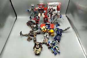 Mixed Lot of Transformers Parts & Figures Various Years & Age Groups Optimus A7