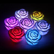 7 Color ChangingRose LED Night LightLamp Home Party Decor Kid Child Toy Gift