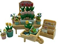 Calico Critters Sylvanian Families Village Flower Stall Flair Epoch RETIRED