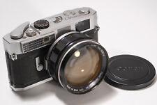 Canon Model 7 nº 299486, canon lens 0,95/50 nº 16344, 1x tapa
