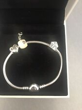 pandora charm bracelet with genuine charms