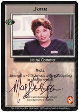 Babylon 5 CCG Severed Dreams Embossed Card Jane Maggie Egan Autograph Signed