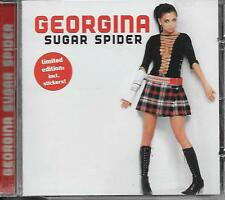GEORGINA - Sugar spider CD Album 13TR Enhanced Europop 2002 Holland