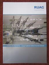 DEPLIANT RUAG AEROSPACE DEFENCE CENTER AERODYNAMICS SUBSONIC WIND TUNNEL EMMEN