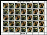 "Principality of Hutt River 2014 ""44th Anniversary"" FULL SHEET"