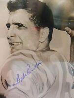 Autographed Babe Parilli 8x10 Photo NY Jets w/COA 100% REAL GUARANTEED