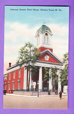 WEST VIRGINIA - CHARLES TOWN, JEFFERSON COUNTY COURT HOUSE  POSTCARD   761