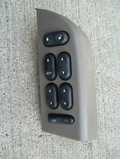 02 - 05 FORD EXPLORER MERCURY MOUNTAINEER MASTER POWER WINDOW SWITCH BROWN