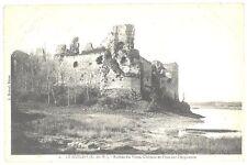 CPA 22 - LE GUILDO (Côte d'Armor) - 2. Ruines du Vieux Château et Pont