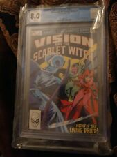 Vision and the Scarlet Witch 1 CGC 8.0 Wandavision Disney Plus